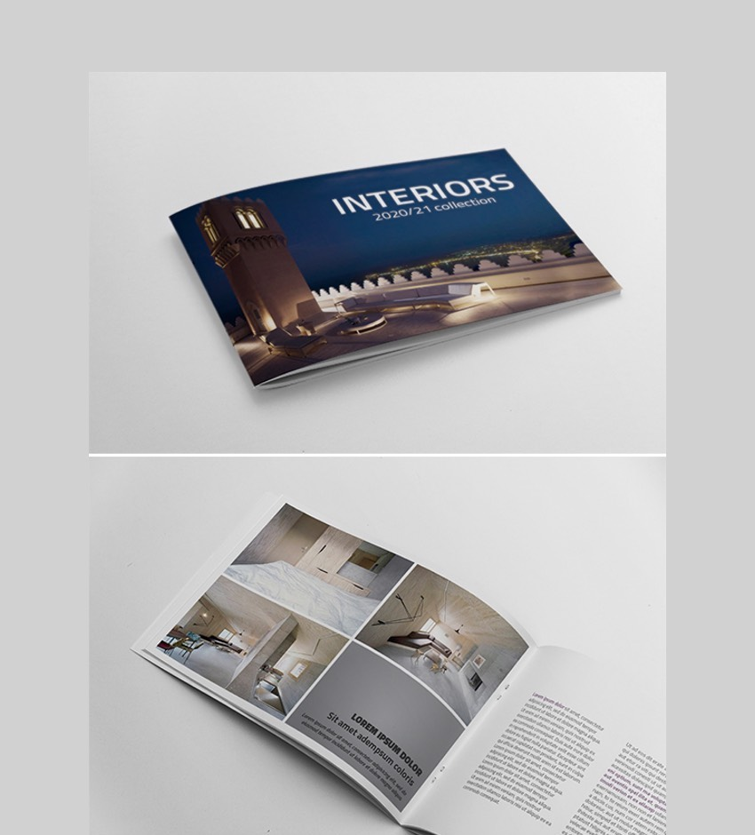 A5 Booklet Catalogue - Multipurpose InDesign Catalogue Template