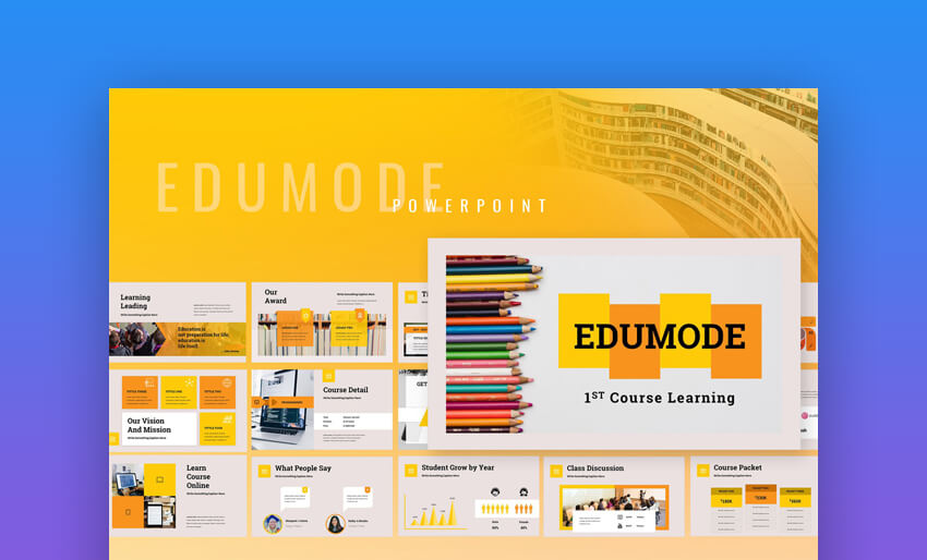 Edumode - Education PowerPoint Template