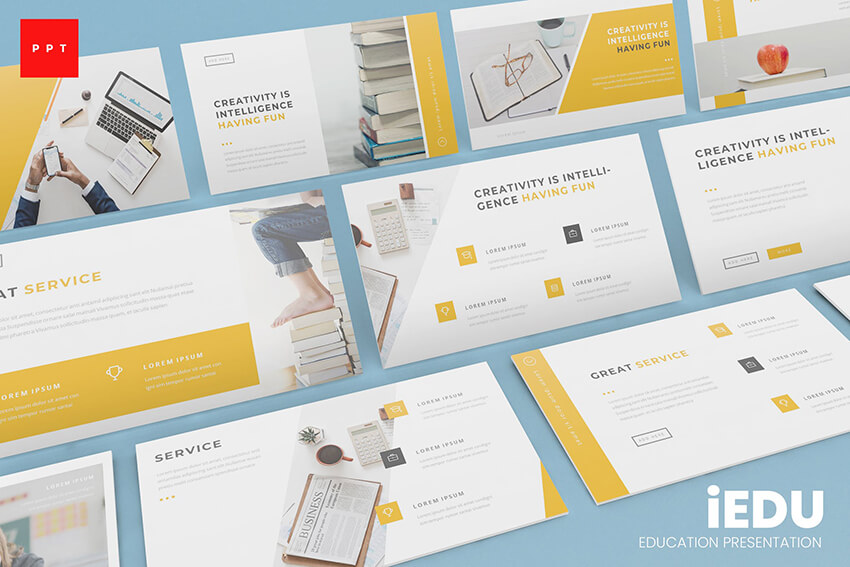 iEdu PowerPoint Template