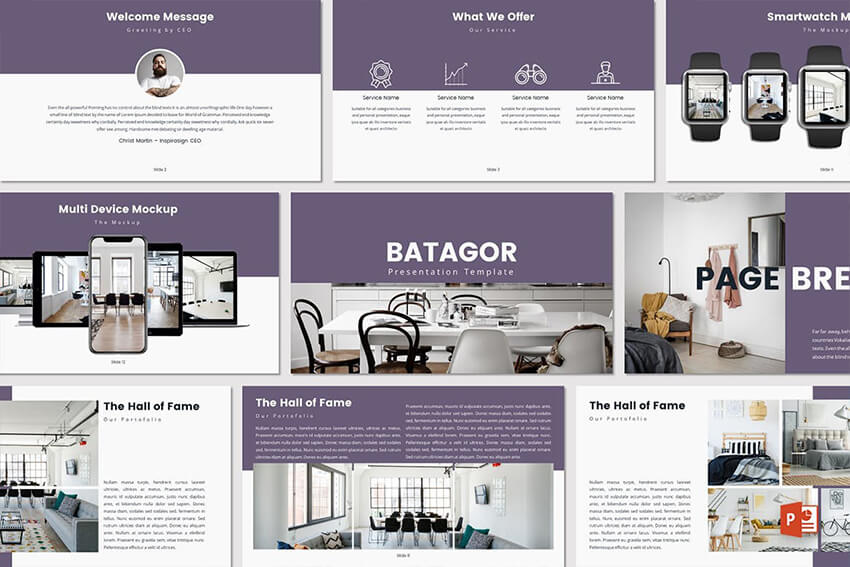 Batagor PowerPoint Template