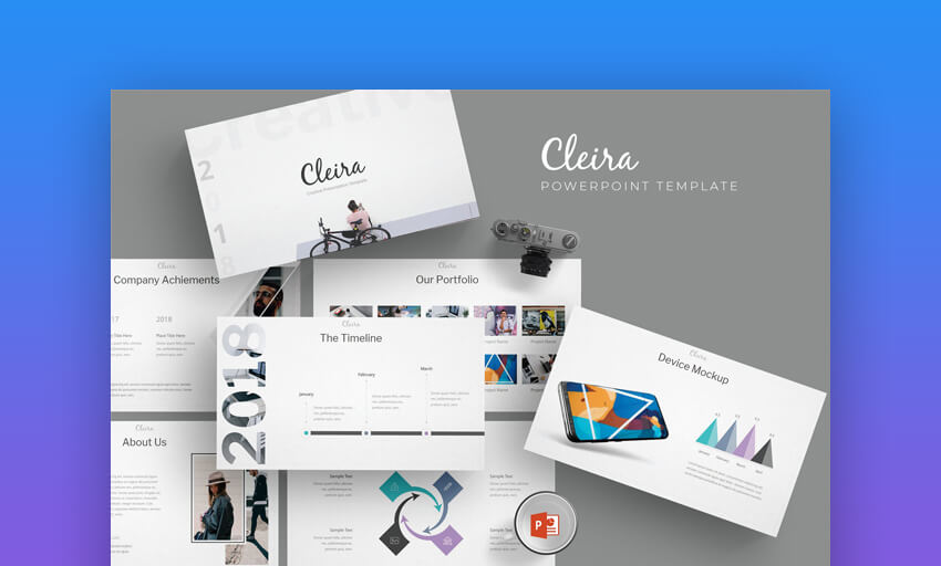 Cleira - Elegant PowerPoint Template