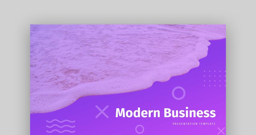 Modern - Custom Business PowerPoint Template