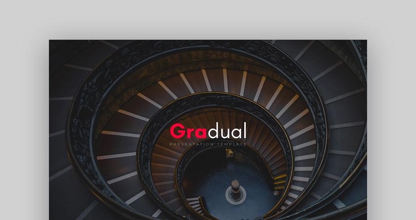 Gradual - Trendy Custom PowerPoint Template