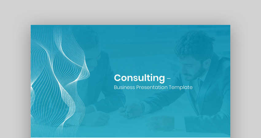 Consulting - Custom PowerPoint Template