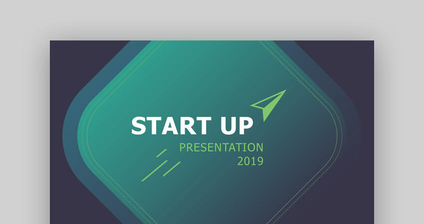 Startup - Custom PowerPoint Template