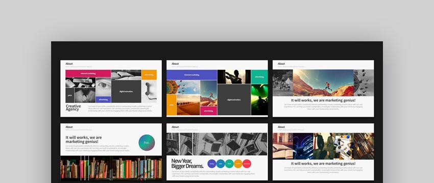 Warna - Versatile Customizable PowerPoint Template Design