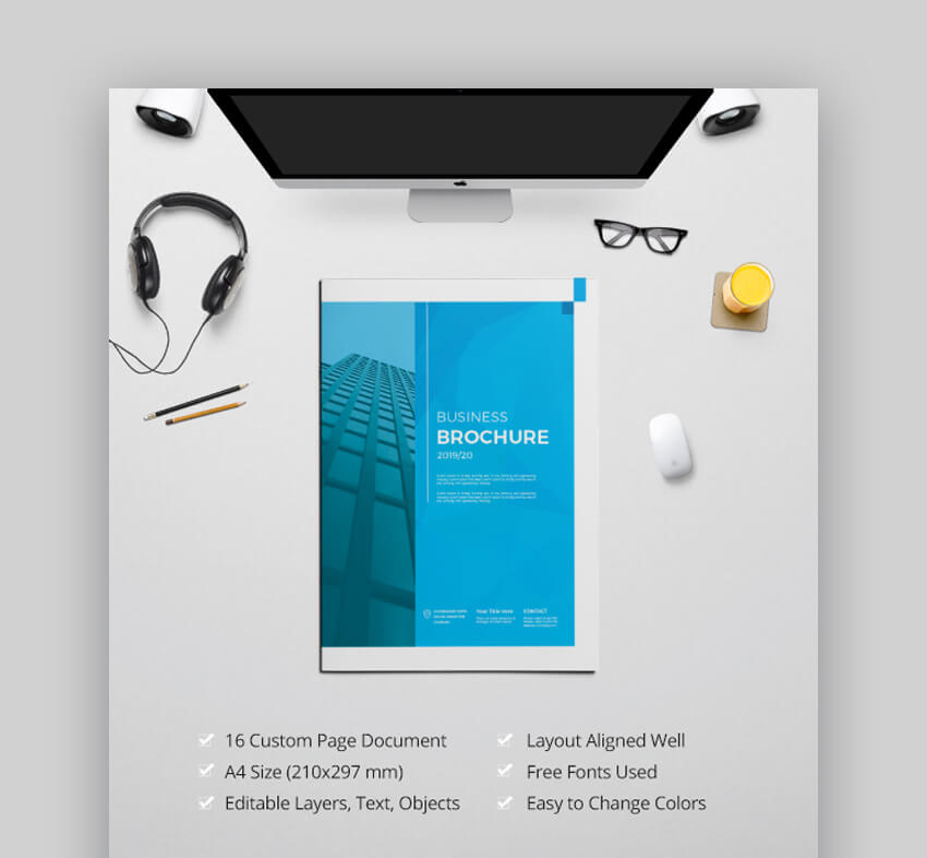 Business Brochure - Corporate Brochure Design