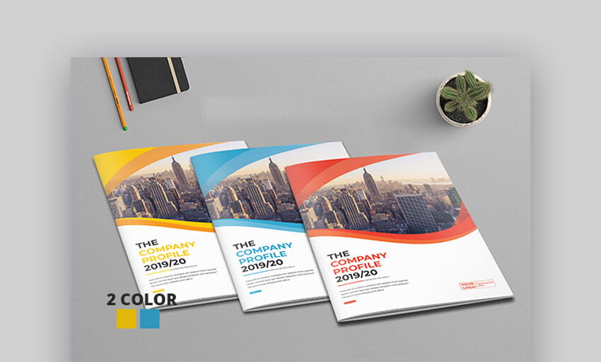 Business Profile Brochure - Corporate Brochure Template