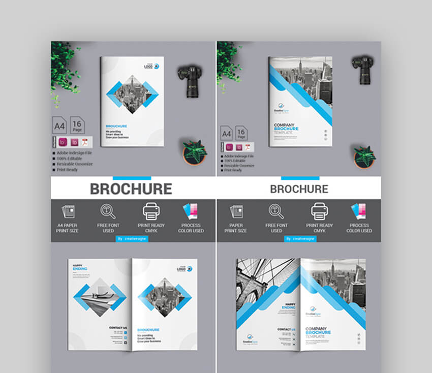 2 in 1 Bundle Brochure - Modern Brochure Designs