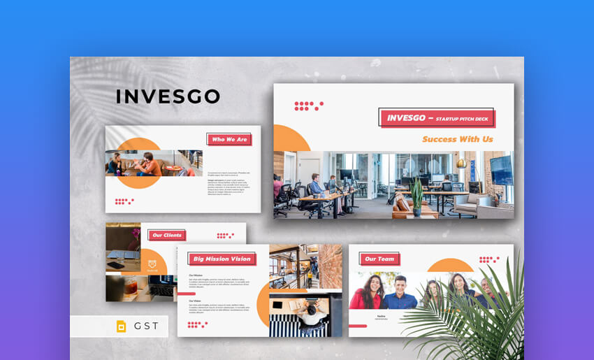 INVESGO - Google Slides Startup Pitch Deck