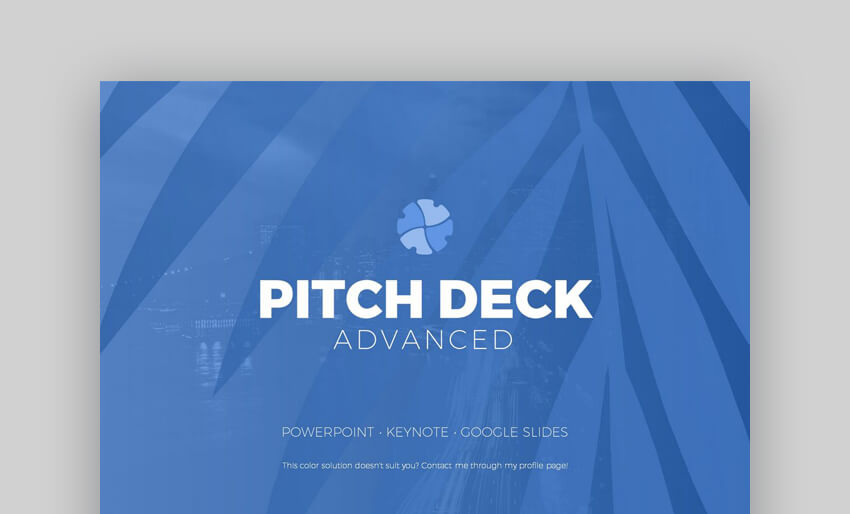Pitch Deck Advanced - Versatile Keynote Template