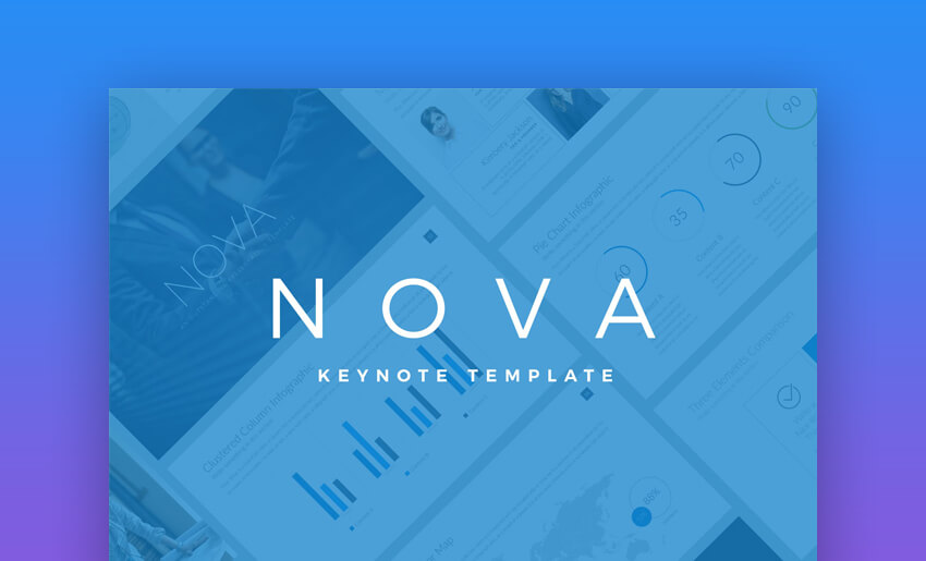 Nova - Business Keynote Pitch Deck