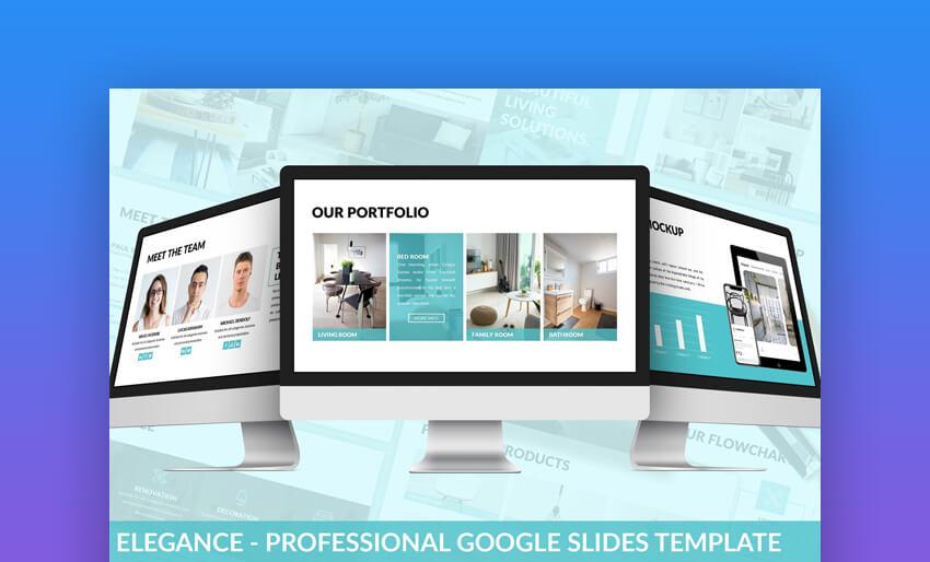 Elegance - Professional Google Slides Template