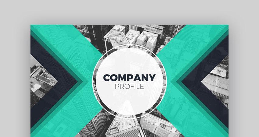 Professional Company Profile Google Slides Template