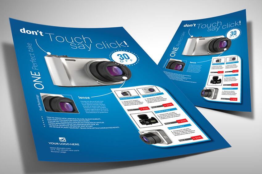 Product Flyer Example