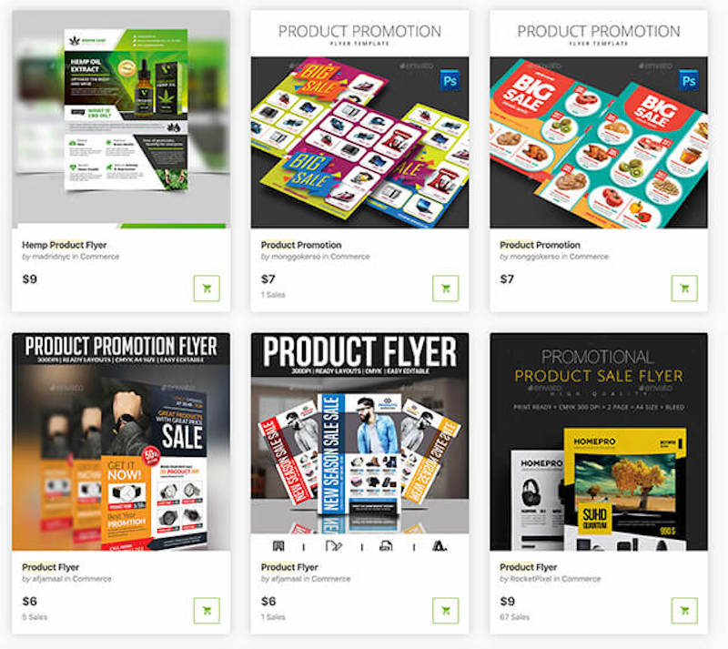 Best product flyer templates