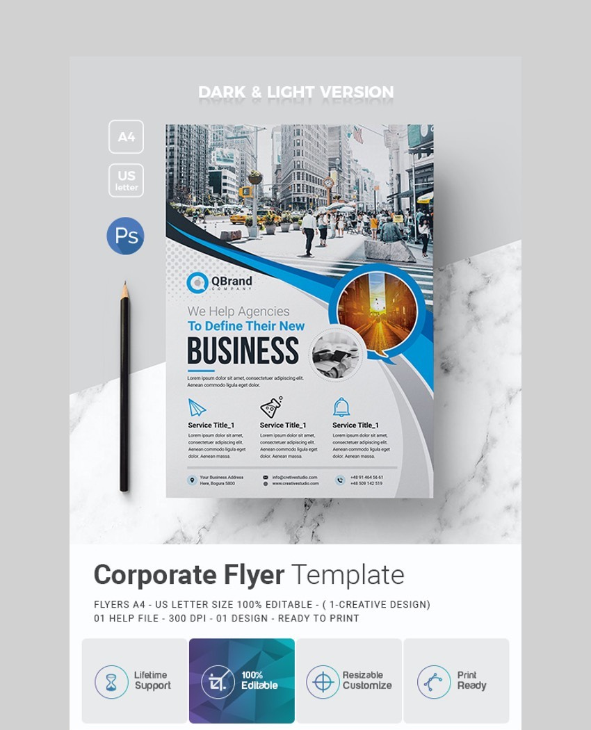 40 Business Flyer Templates Creative Layout Designs Industry Specific Templates