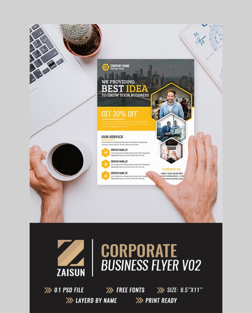 40 Business Flyer Templates Creative