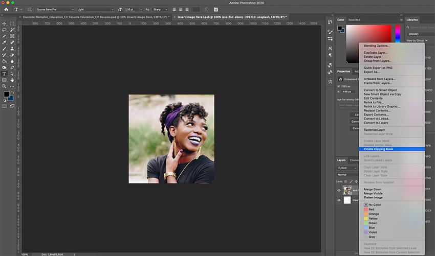 Customizing an image