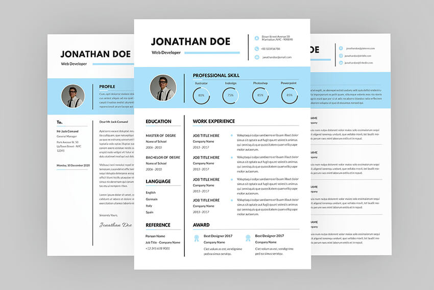 Jonathan Web Resume Designer