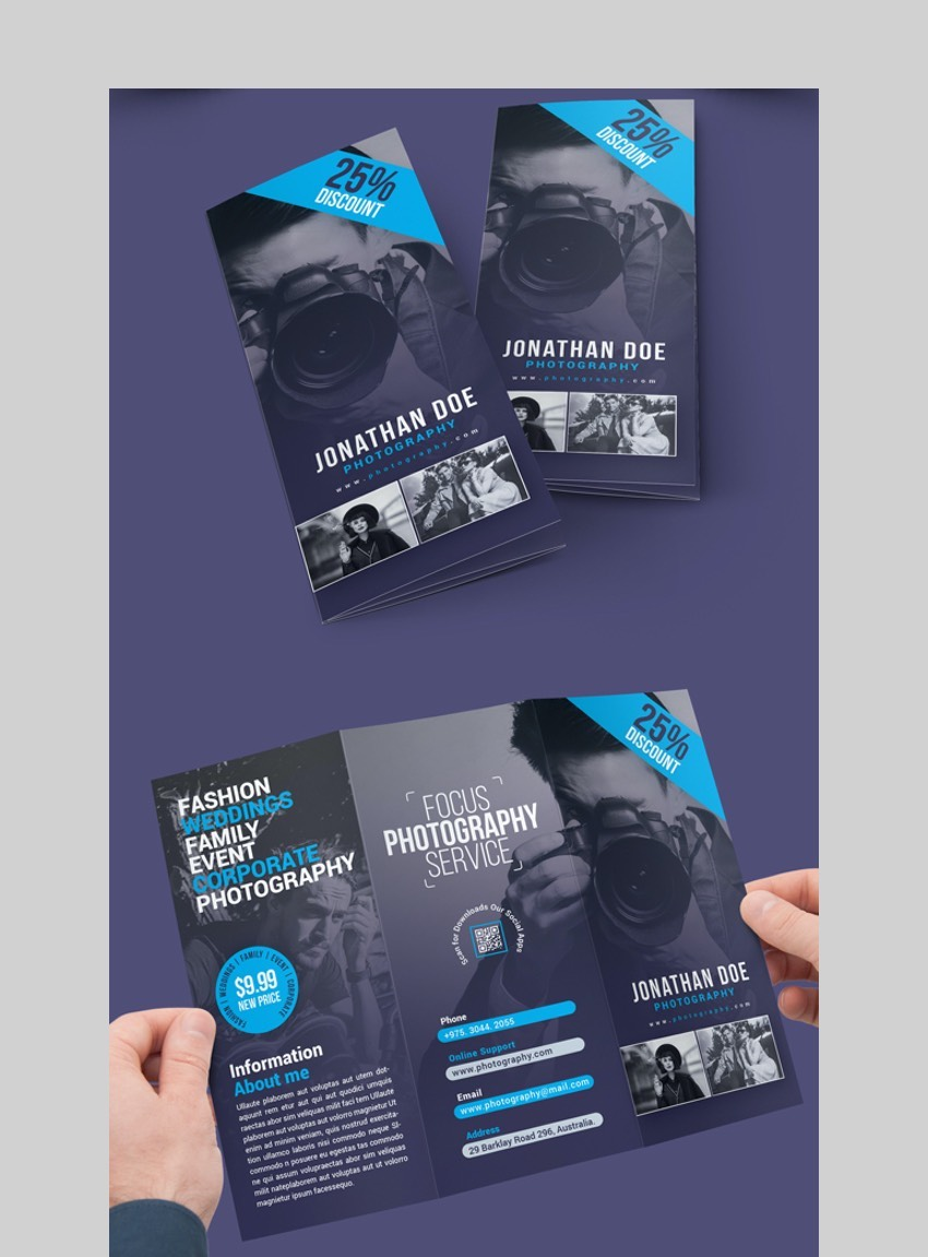 Photography - Brochure Template For Photoshop