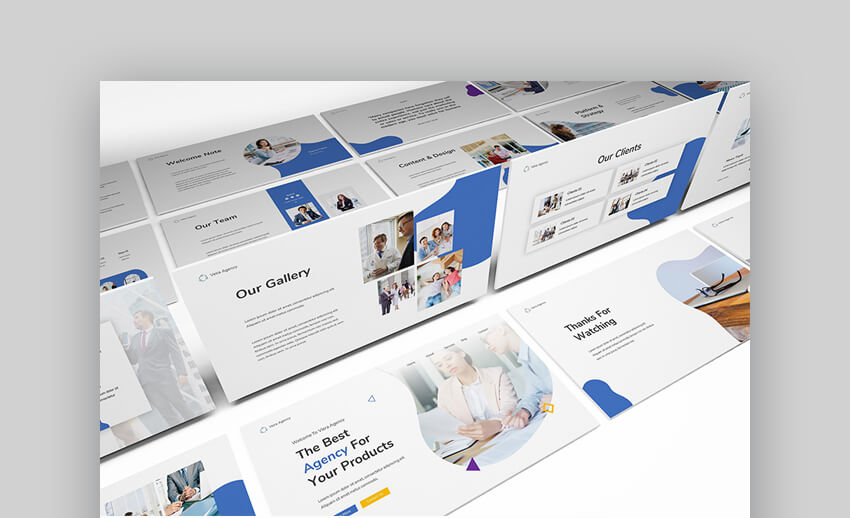 Marketing Firm Presentation Template