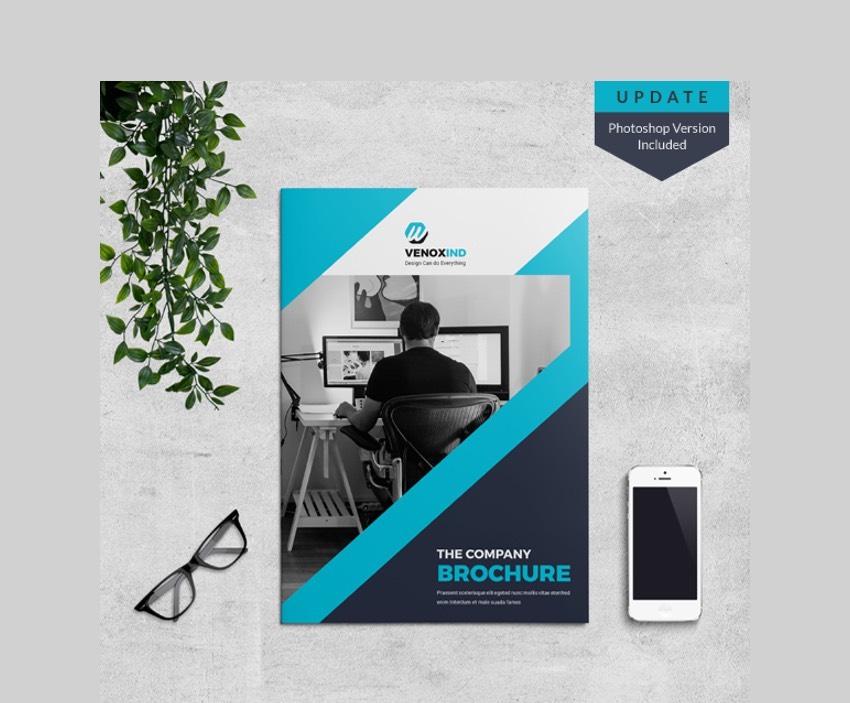 Modern Brochure InDesign Template Inspiration