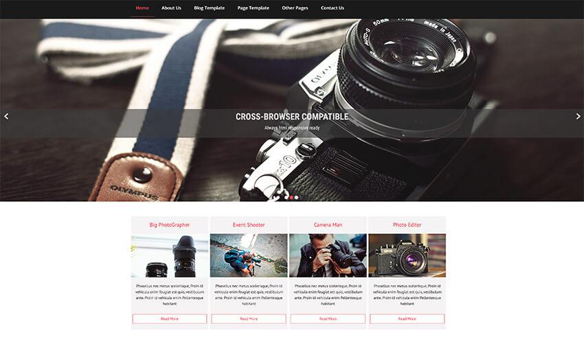 Cphotopic Lite - Free Acting Wordpress Theme