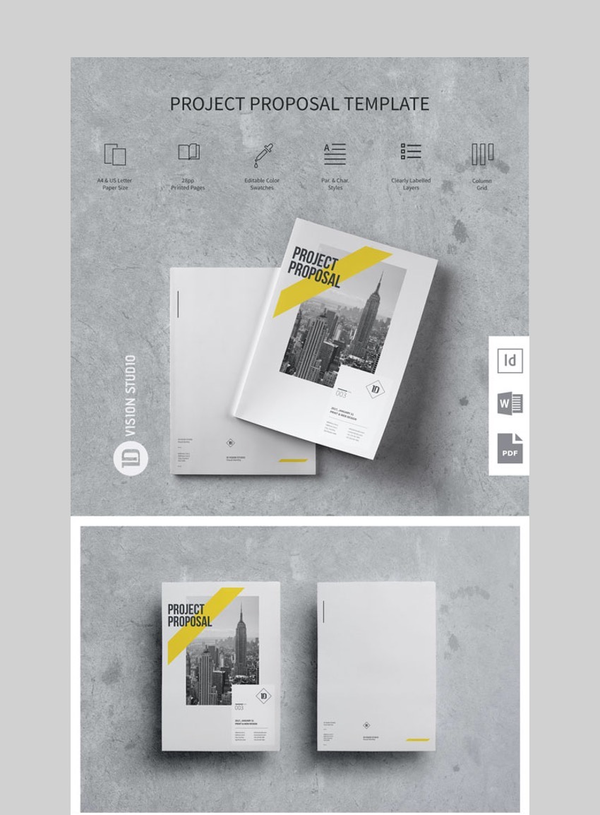 Creative Project Proposal Template 003