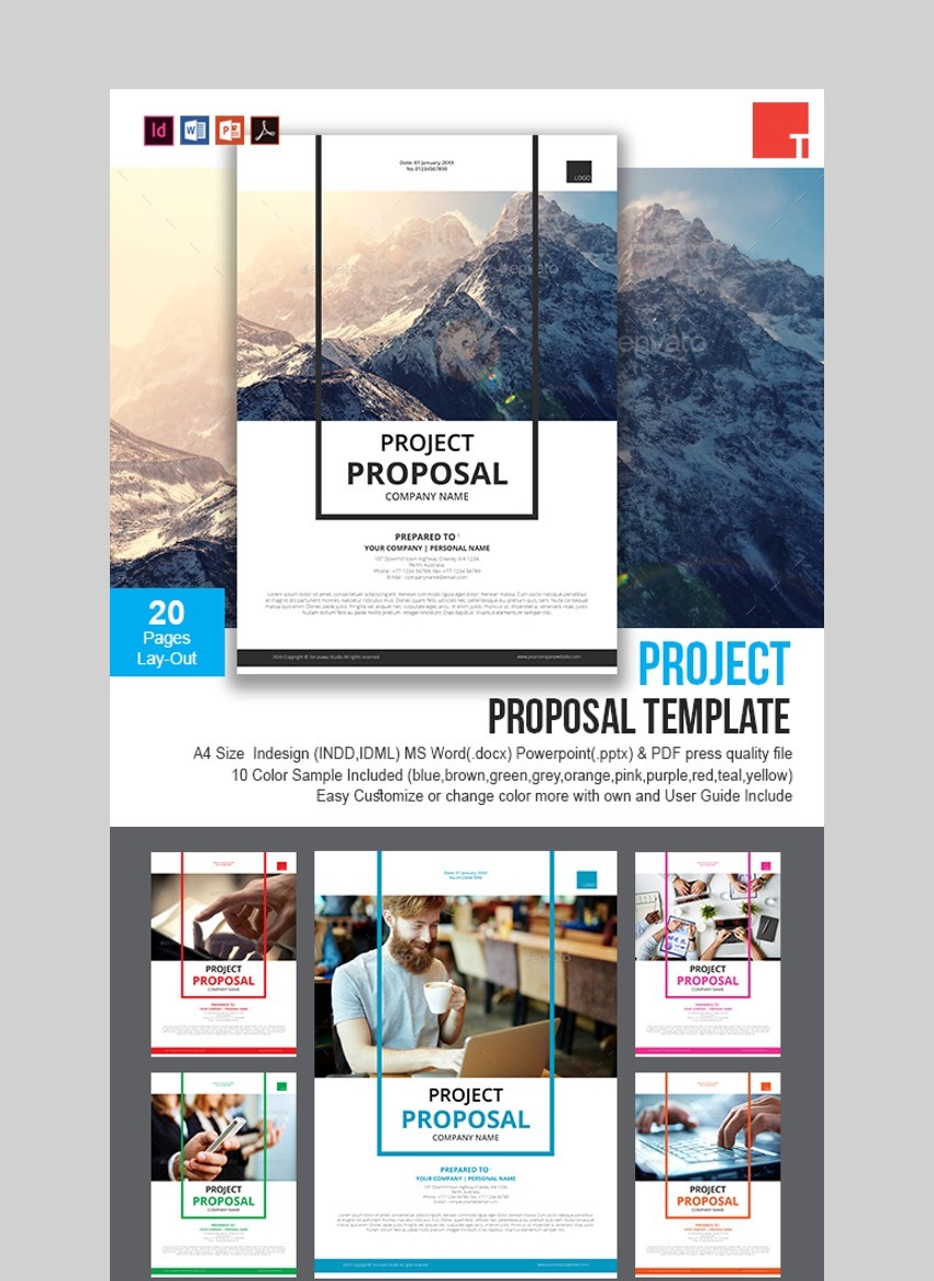 Creative Project Proposal Template