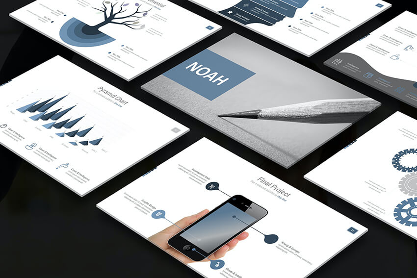 Noah Business PowerPoint template