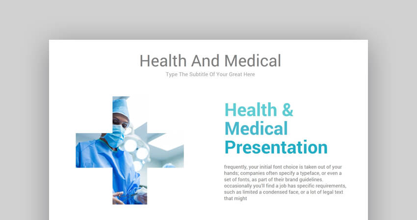 Health  Medical - Creative Medical PowerPoint Template