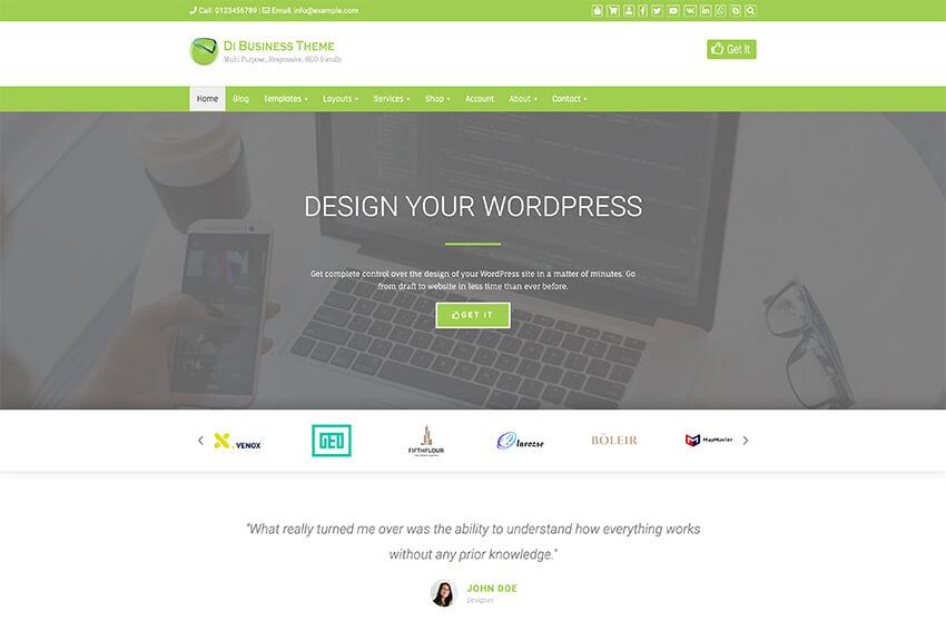 Responsive Forum - Free WordPress Theme