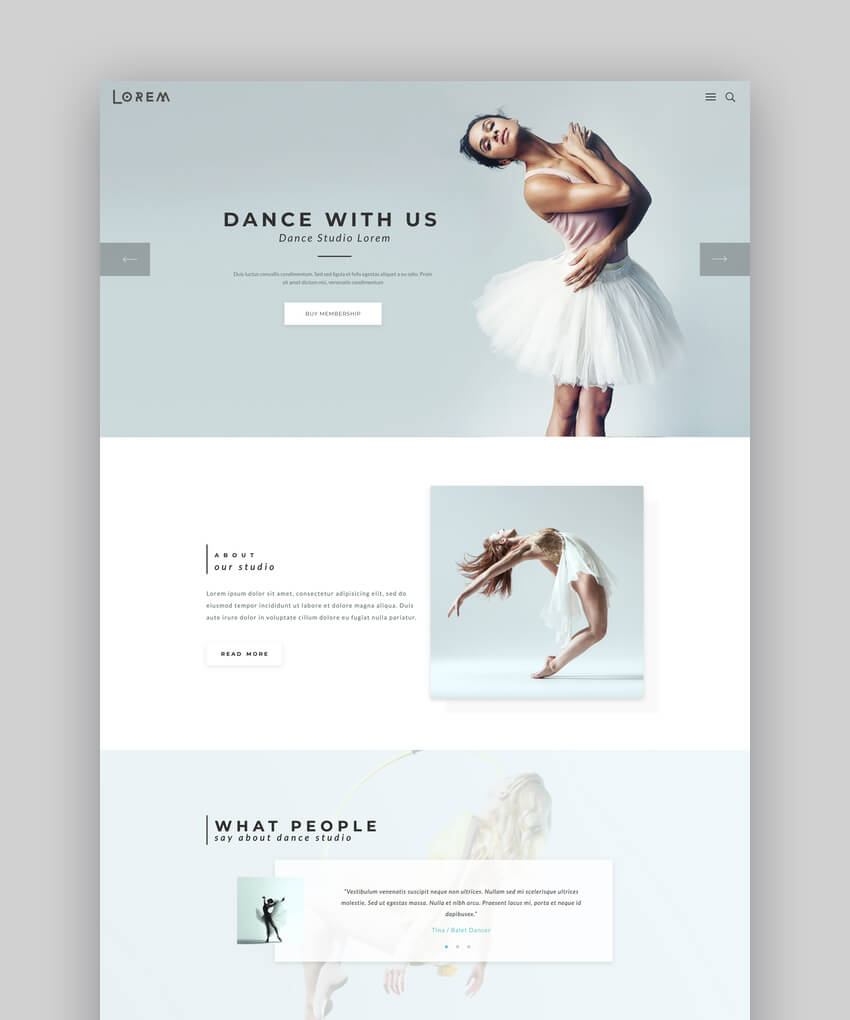Lorem - Premium Creative Art and Business Multipurpose WP Theme