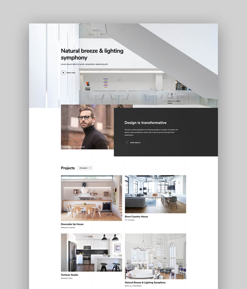 Arcworks  Architecture  Interior Decor WordPress Theme