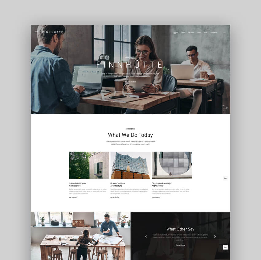 Die Finnhtte - Modern Architecture and Interior Design Theme
