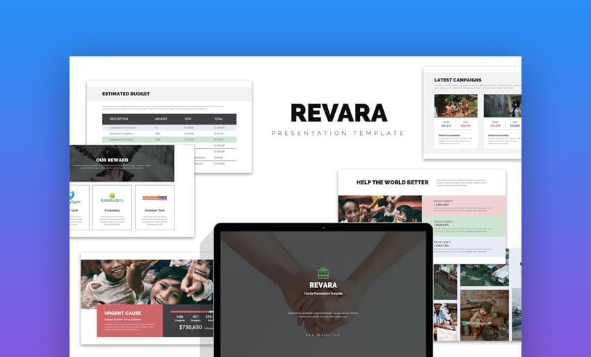 Revara Church Charity Fundraising Social Powerpoint