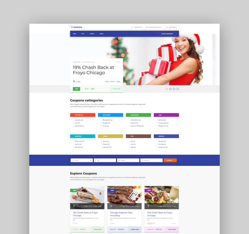 Indexer - WordPress Classified Ads Marketplace Theme