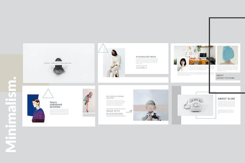 Minimalism Clean PowerPoint template