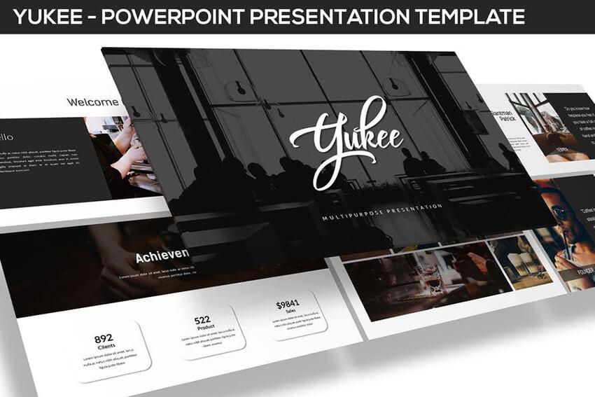 Yukee PowerPoint Presentation Template