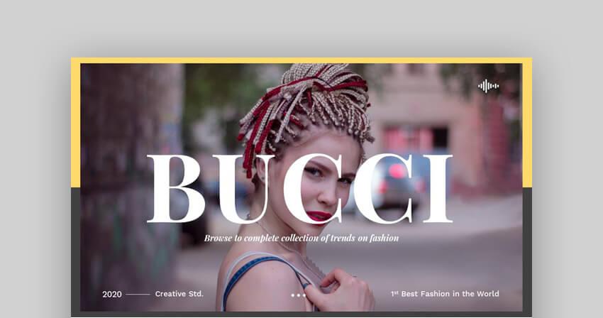 Bucci  Creative Google Slides Template