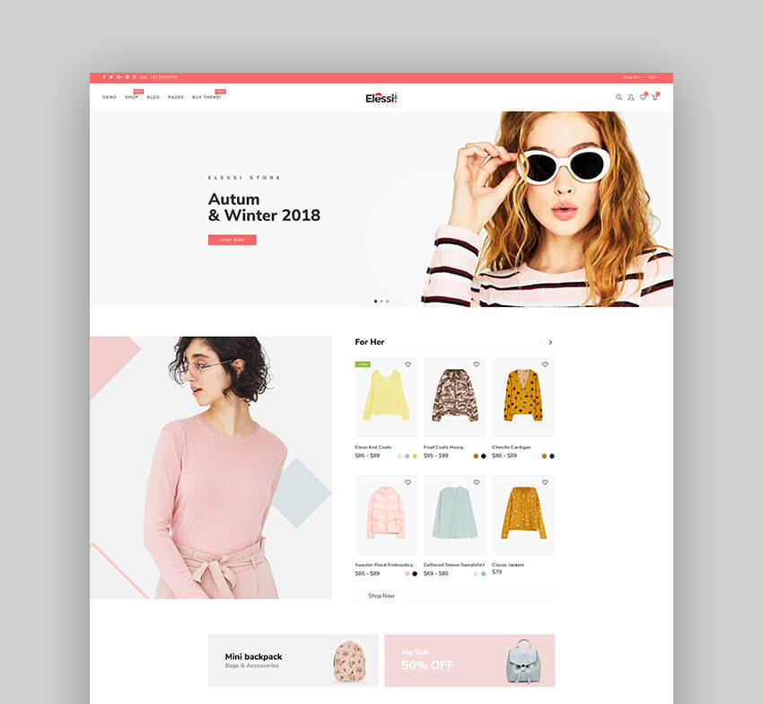 Elessi 20 - Responsive Shopify Theme For Dropshipping Stores