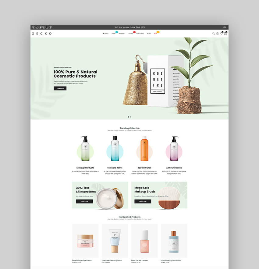 Gecko 40 - Responsive Dropshipping Shopify Theme