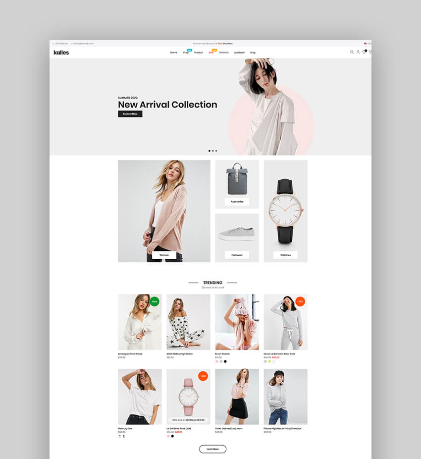 Kalles - Clean Versatile Responsive Shopify Theme For Dropshipping Sites