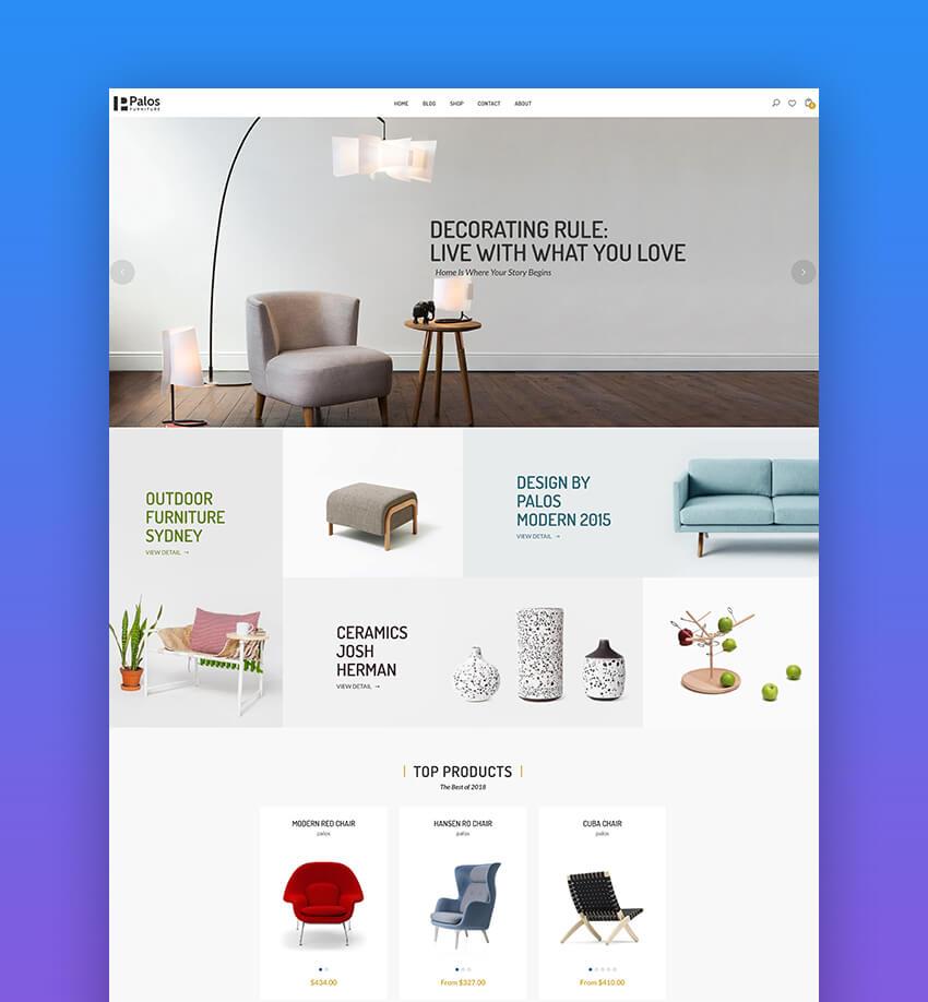 Palos  Multi Store Responsive Shopify Theme