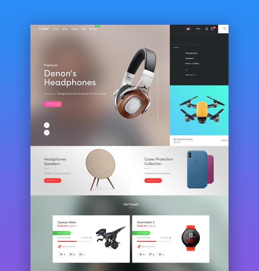 Cize - Electronics Store Shopify Theme