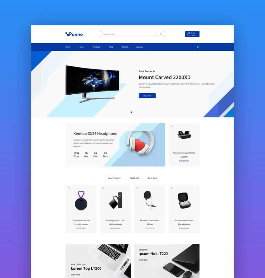 Ponno - Electronics eCommerce Shopify Theme