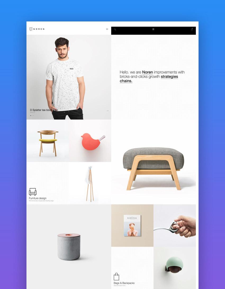 Noren  Responsive Shopify Template