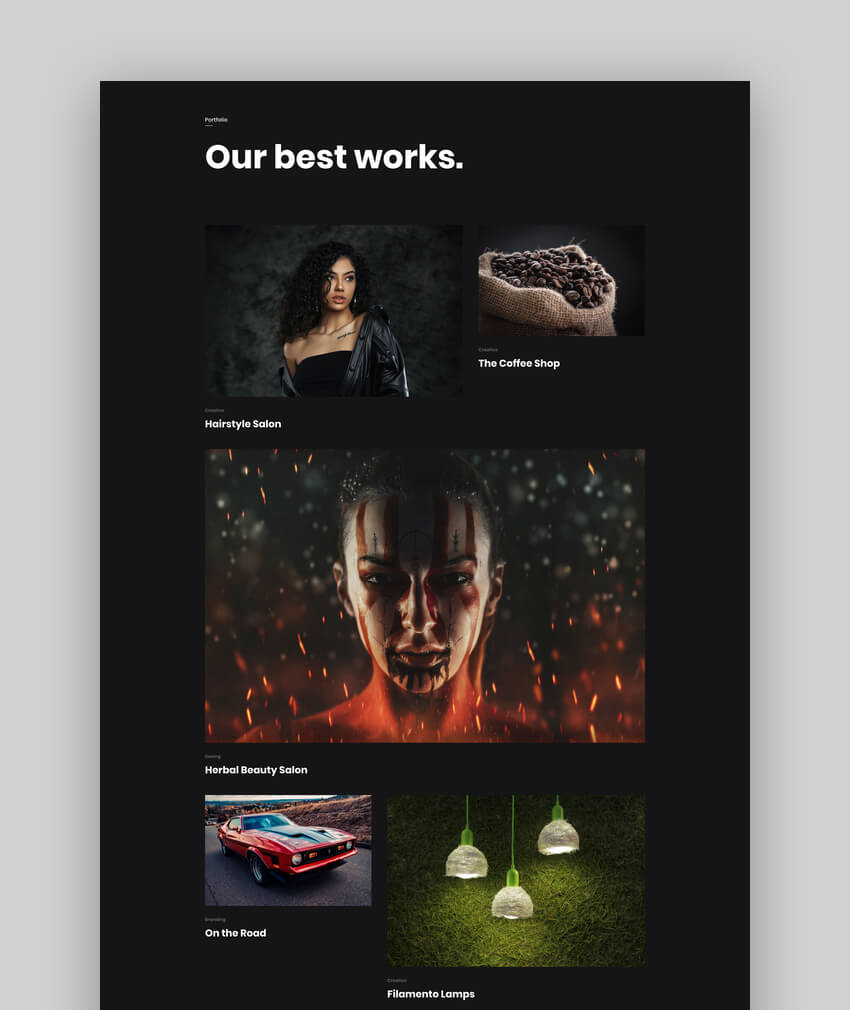 Itonga - Graphic Design Portfolio  Personal Blog WordPress Theme