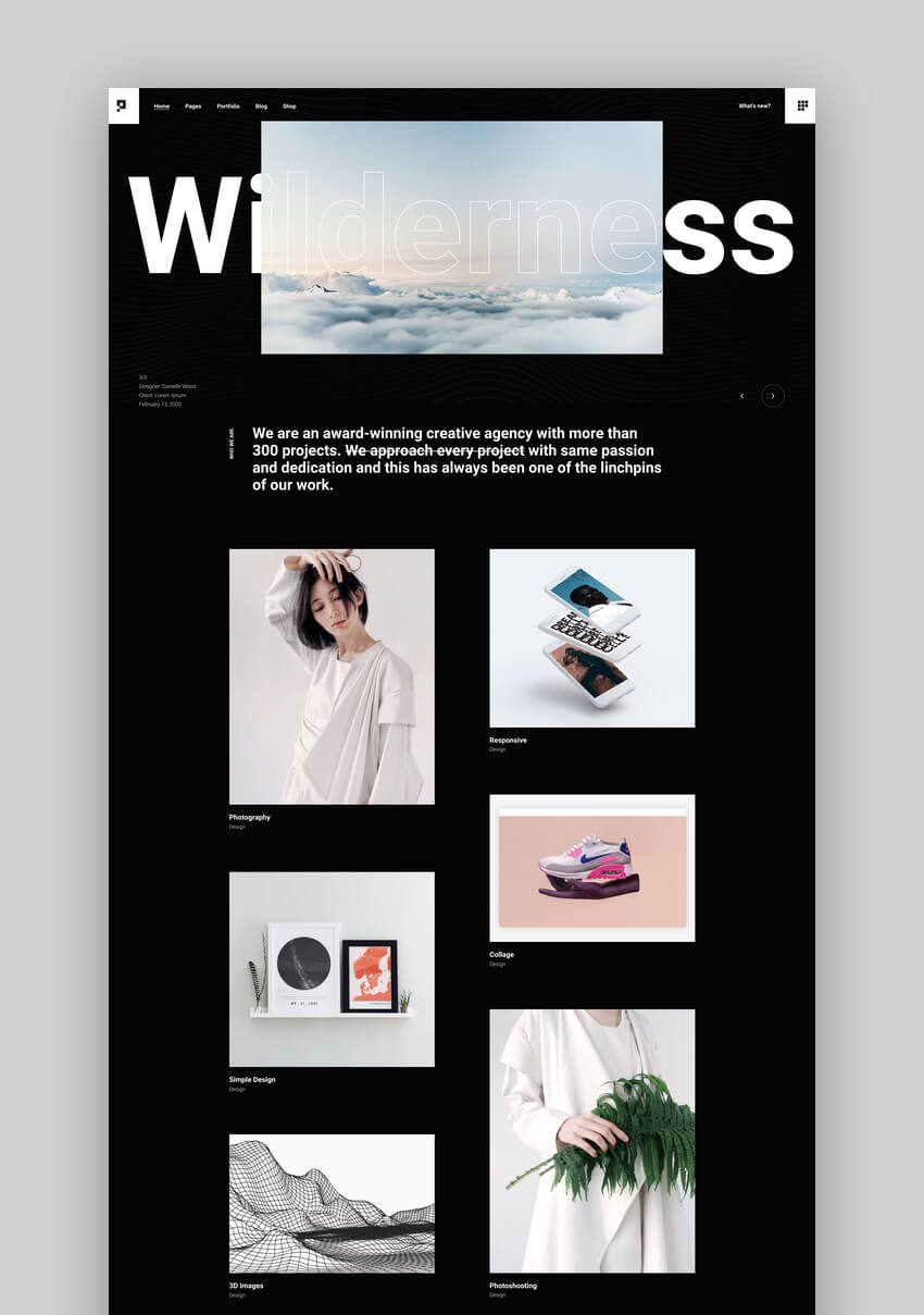 Pearce - Portfolio WordPress Theme